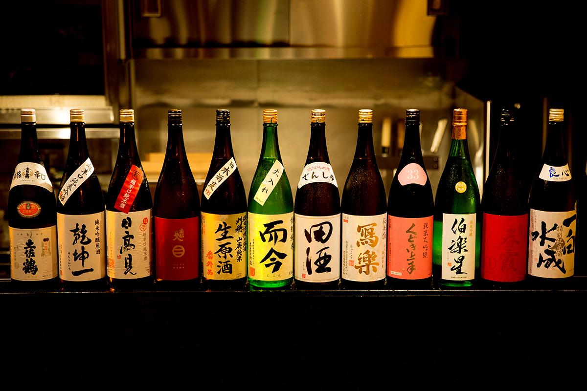 多種多様な地酒をご用意